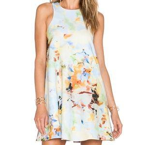 J.O.A Neck A-Line Dress